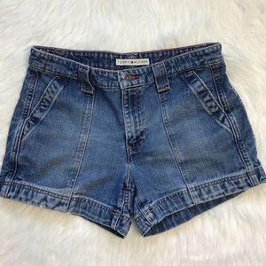 Vtg Tommy Hilfiger denim medium wash shorts size